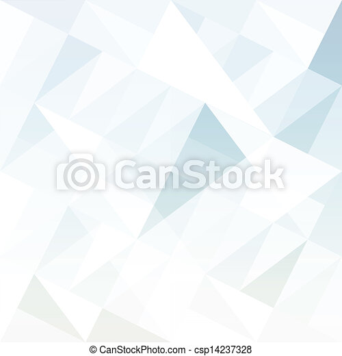 Abstract background with triangles. Vector. - csp14237328
