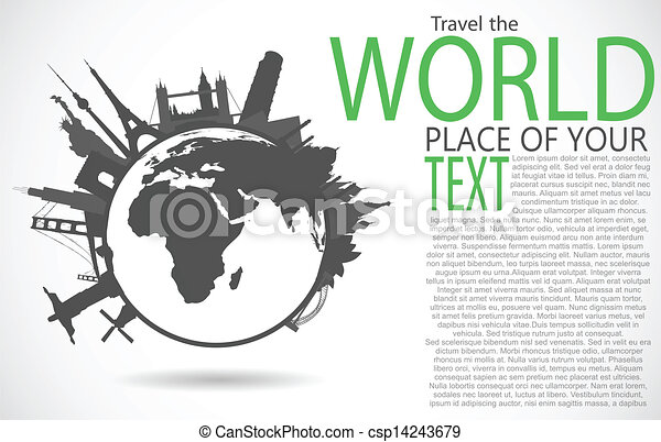 World Famous Clipart Famous Monuments Around World
