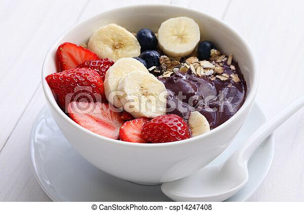 acai bowl - csp14247408