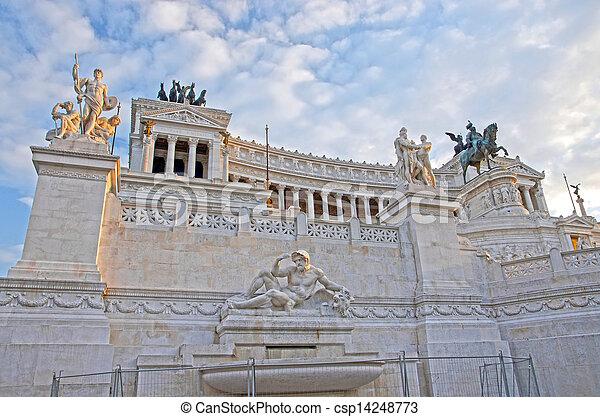 Landmark in Rome - csp14248773