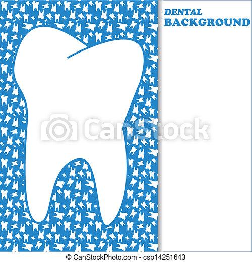 Dental background - csp14251643