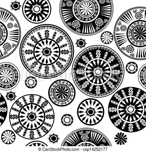 Vecteur oriental noir blanc mod le banque d for Dessin graphique noir et blanc
