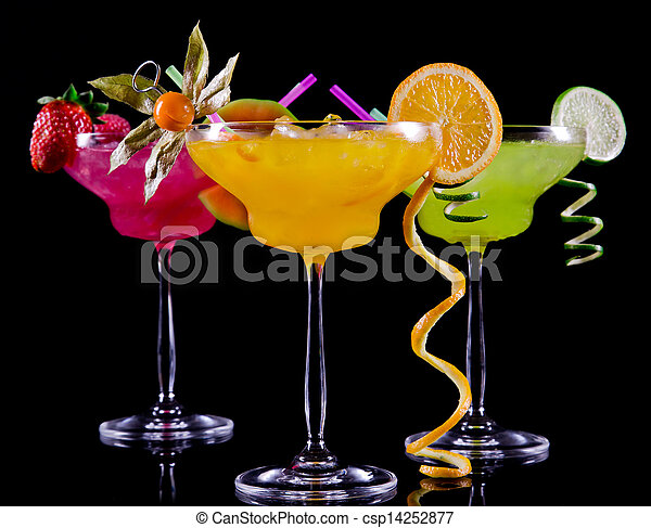 Fruit cocktails - csp14252877