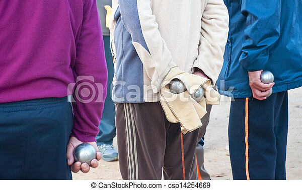 Players bocce ball - csp14254669