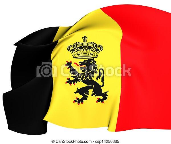 Government Ensign of Belgium - csp14256885