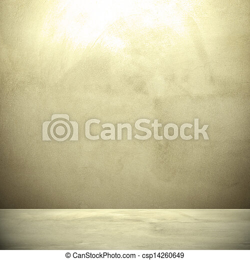 Concrete wall background in retro style. - csp14260649