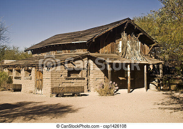 Old West Barn - csp1426108
