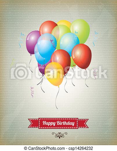 happy birthday  - csp14264232