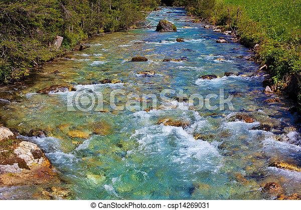 Mountain river - csp14269031
