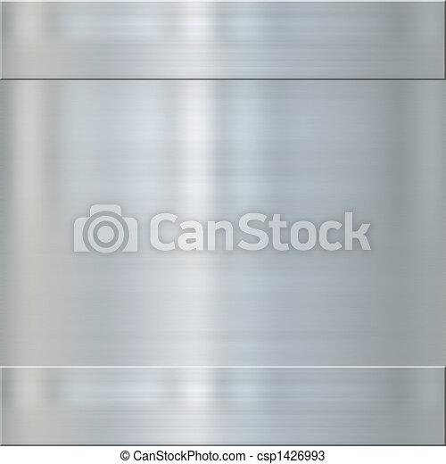 fine brushed steel metal - csp1426993