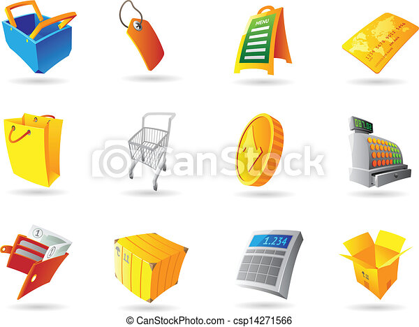 Icons for retail - csp14271566