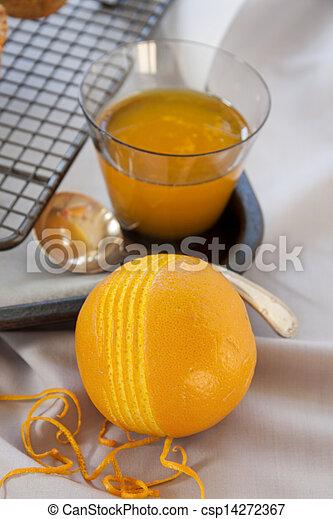 Orange Rind - csp14272367