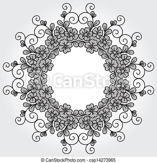 Vector lace element - csp14273965