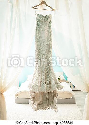 Wedding Dress - csp14275584