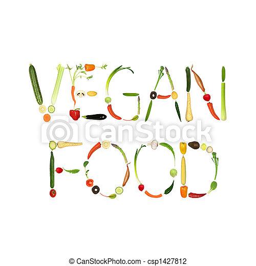Vegan Food - csp1427812