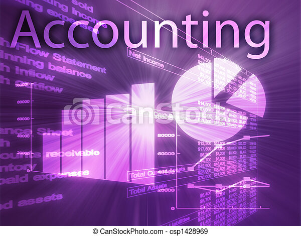 Accounting illustration - csp1428969