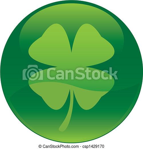 Shamrock icon - csp1429170