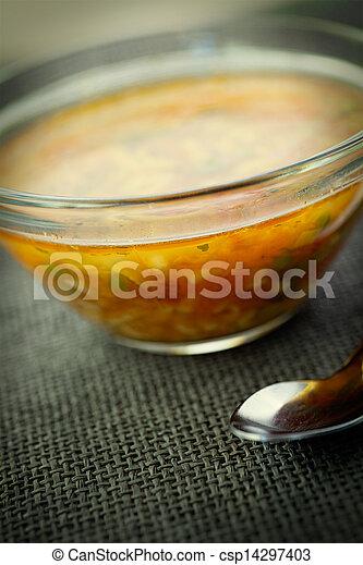 Vegetable soup - csp14297403
