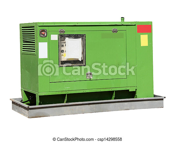 Industrial-sized electrical  power generator - csp14298558