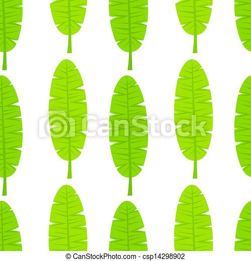 Banana Leaf Illustration Banana Leaf Pattern Banana