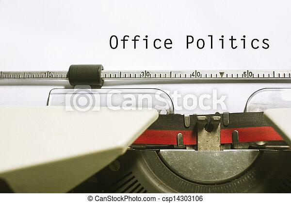 office politics - csp14303106