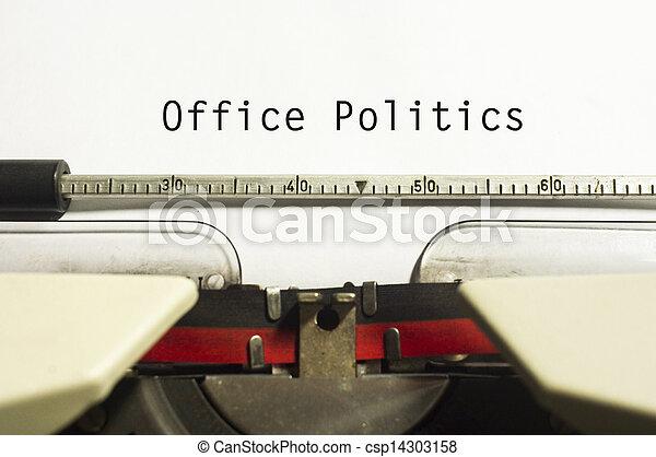 office politics - csp14303158