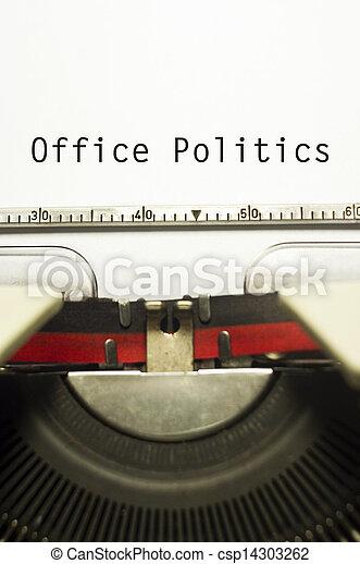 office politics - csp14303262