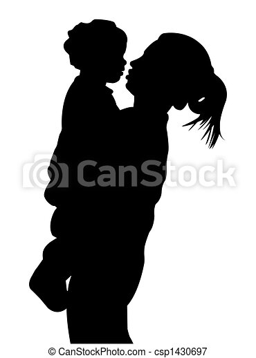 Mother and child - csp1430697