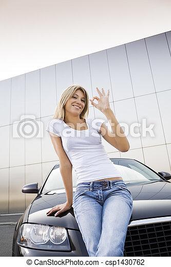 nouveau, voiture - csp1430762