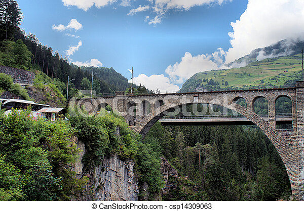 Swiss bridges - csp14309063