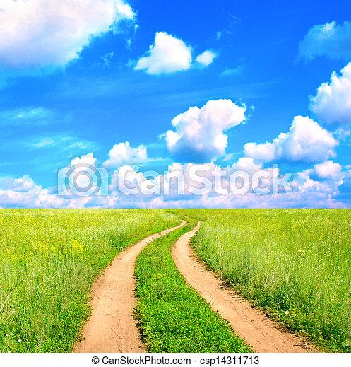 Rural landscape - csp14311713