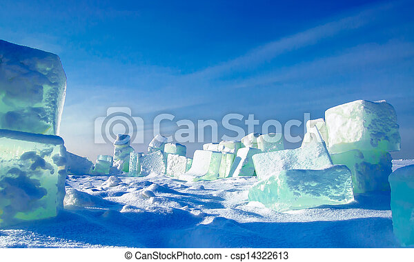 ice cubes - csp14322613