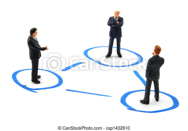 networking business people - csp1432610