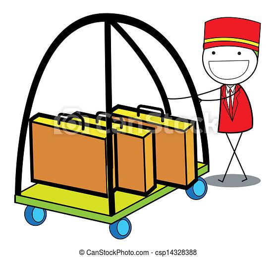 Vector of hotel boy csp14328388 - Search Clip Art ...