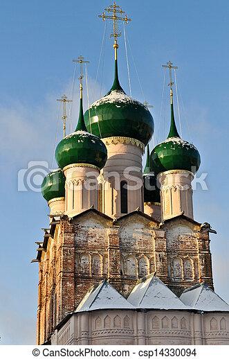 Russian Orthodox Church of Rostov Kremlin - csp14330094
