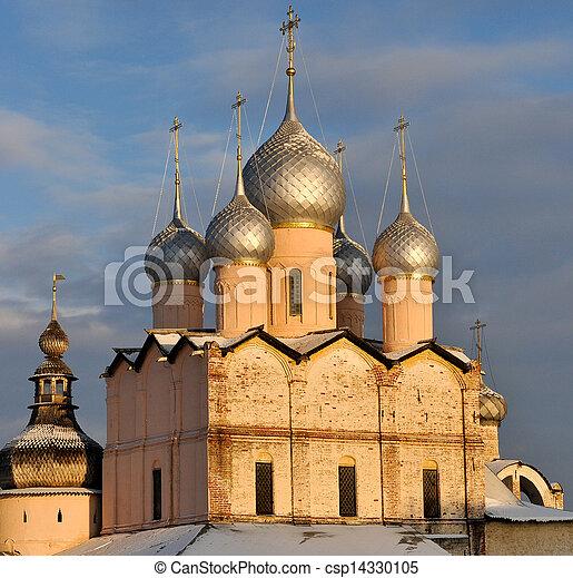 Russian Orthodox Church of Rostov Kremlin - csp14330105