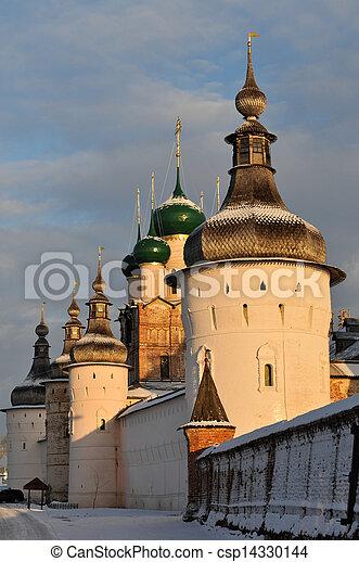 Russian Orthodox Church of Rostov Kremlin - csp14330144