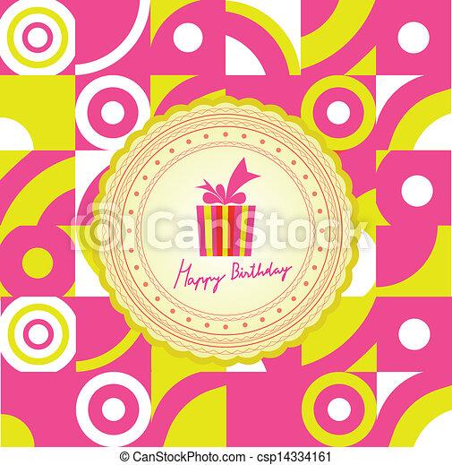 Happy Birthday - csp14334161