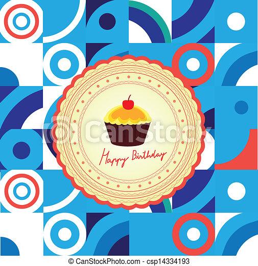 Happy Birthday - csp14334193