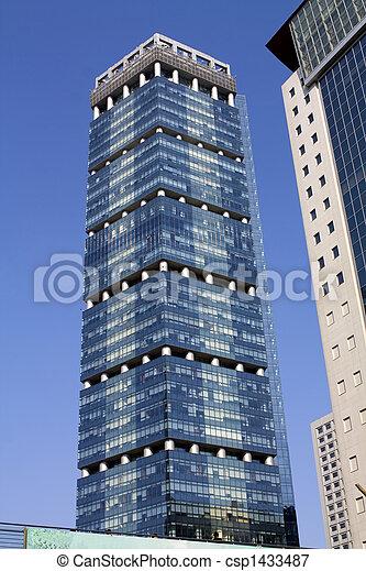 Shanghai Architecture- modular design - csp1433487