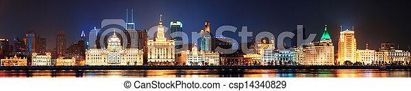 Shanghai historic architecture - csp14340829
