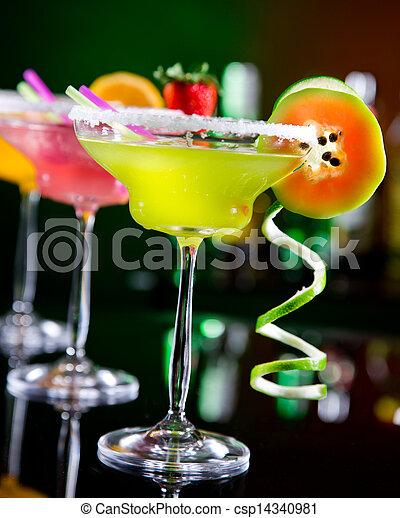 Fruit cocktails - csp14340981