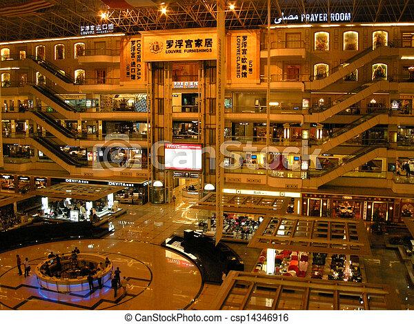 Multistorey furniture shopping center(Guangzhou, China)