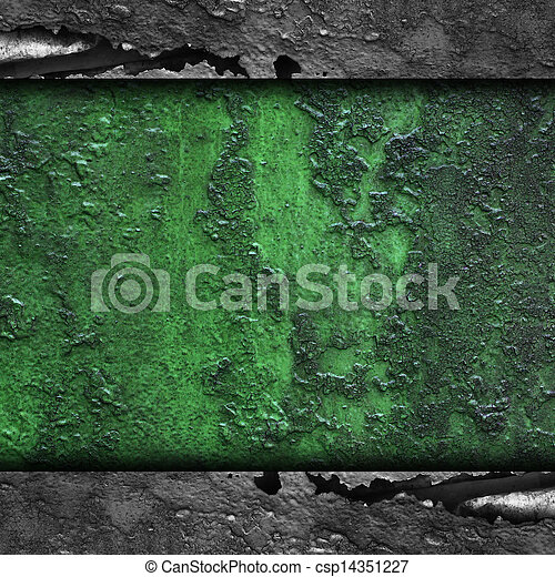 how to clean green rust from metal