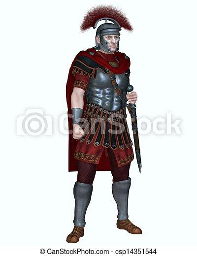Roman Centurion - Transverse Crest - csp14351544