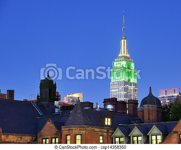 Landmark New York City - csp14358350