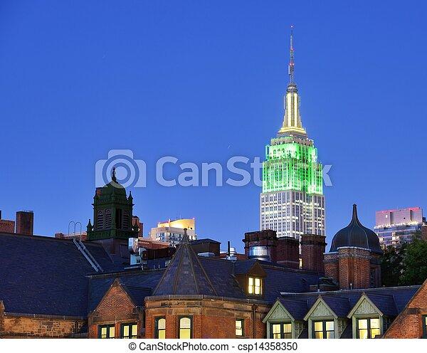Landmark New York City - csp14358350