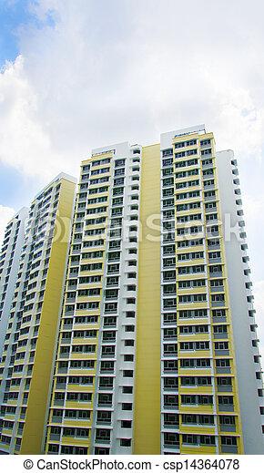 Singapore Government apartments - csp14364078