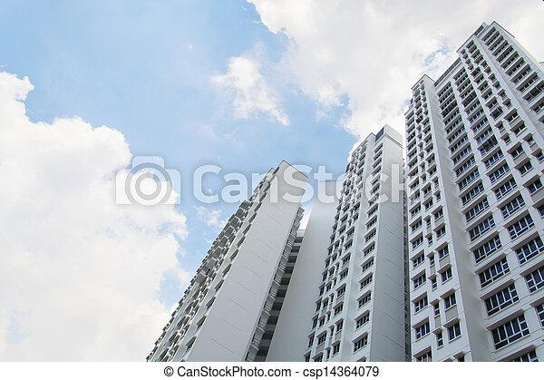 Singapore Government apartments - csp14364079