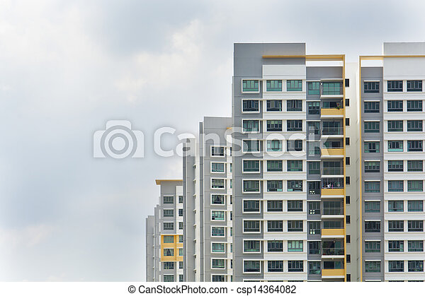 Singapore Government apartments - csp14364082